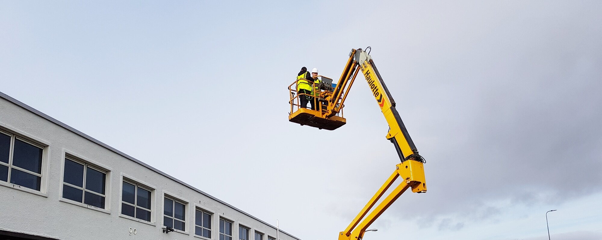 COMMERCIAL CLEANING & WORKING AT HEIGHT