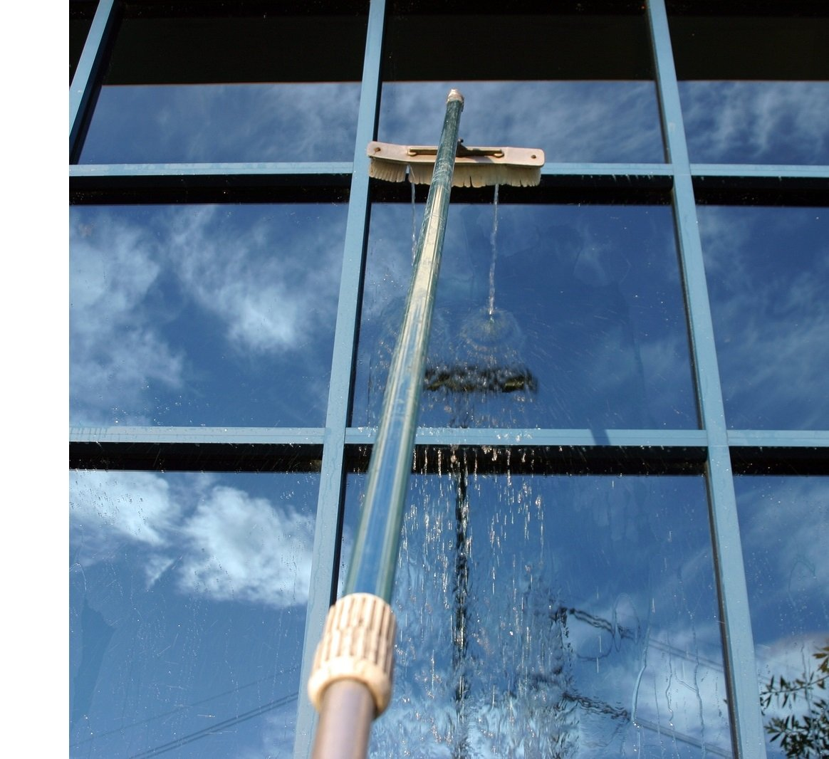 water fed pole window cleaning in dundee and angus
